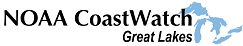 NOAA CoastWatch Great Lakes logo